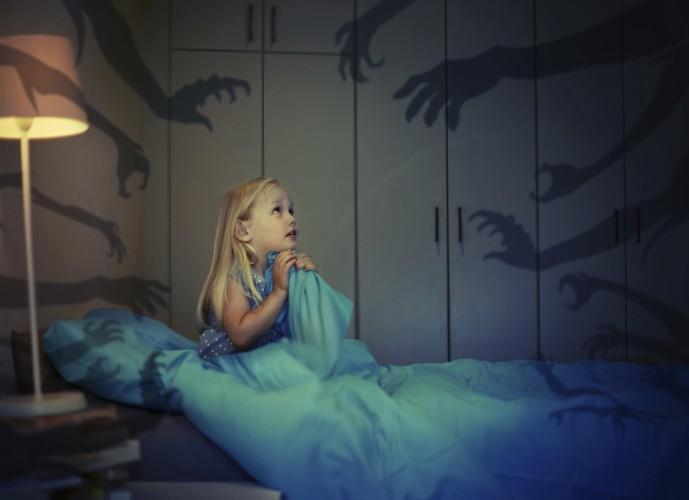 Страхи у детей - ночные страхи, страх смерти, страх темноты