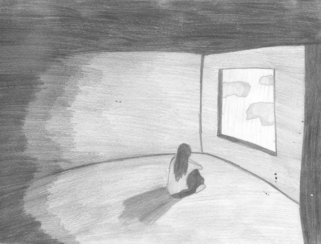 Рисунки карандашом о одиночеств