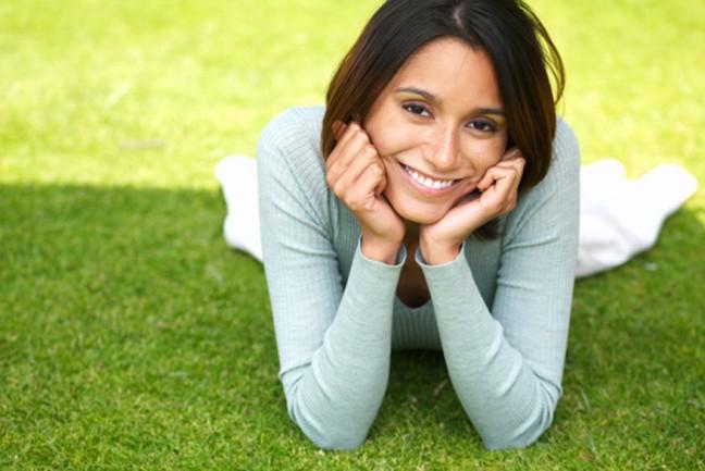 фото красивой женщины за 30 счастливой