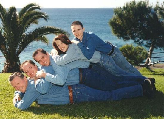 коллективное фото семейных пар