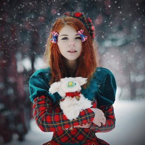 Фото на аву в вк рыжих девушек