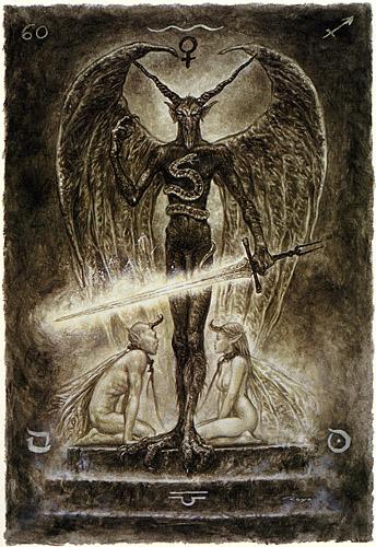 Медитации на «негативные арканы» Смерть, Дьявол, Башня, Луна.