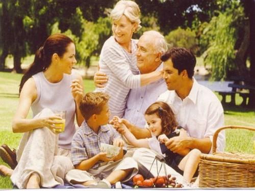Гармония и дисгармония семейных отношений.