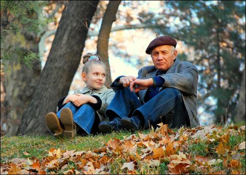 Внучка с дедом фото фото 297-122