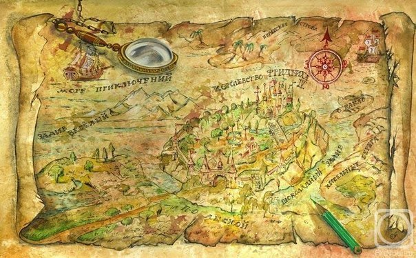Карта вашего внутреннего мира Арт терапии вам в помощь