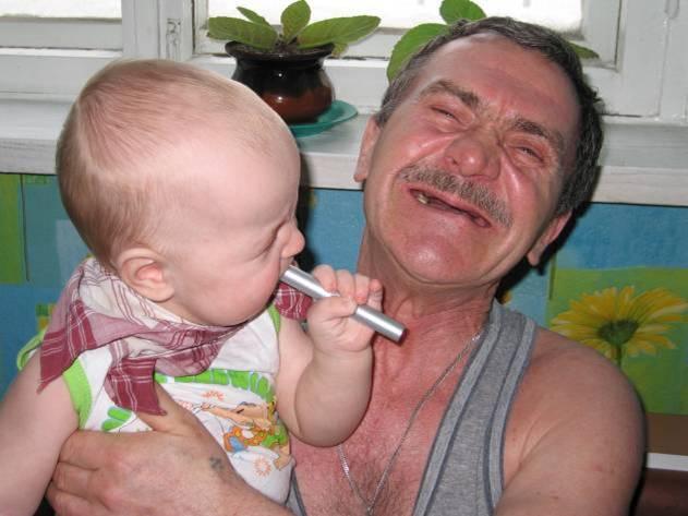 дед виибал внучку фото