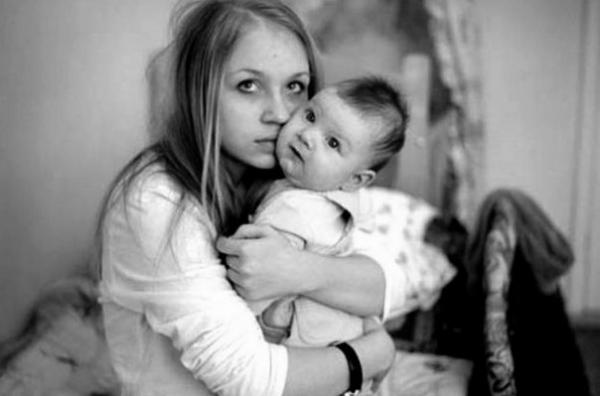 Беременных с детьми россия