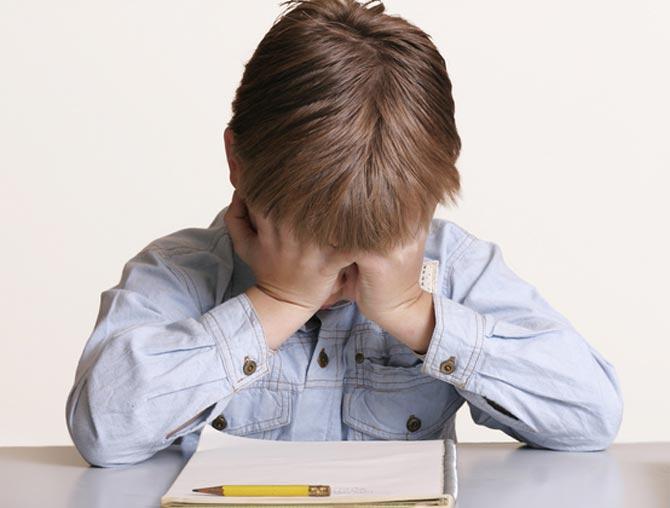 У ребенка страх перед чтением