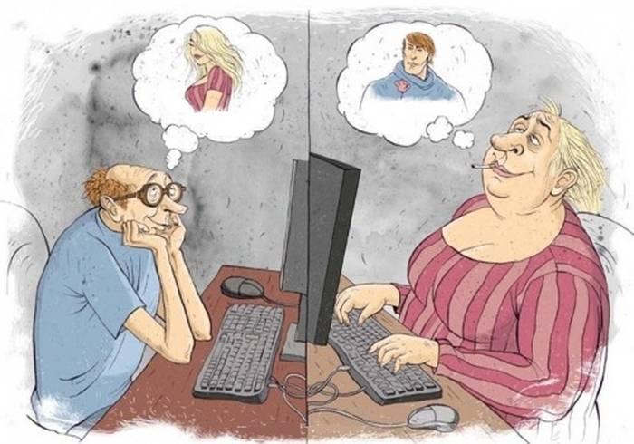 из истории интернета знакомств