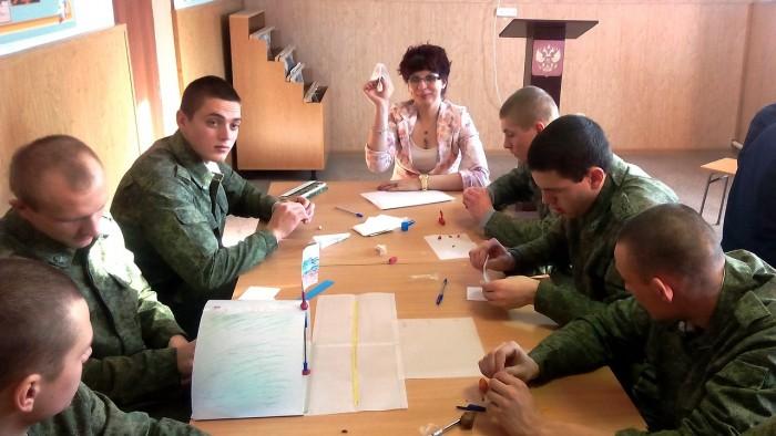 Творческий тренинг командообразвания с военнослужащими