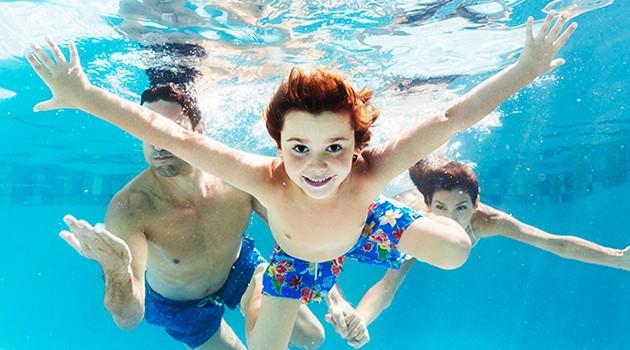 как быстро научится плавать детям