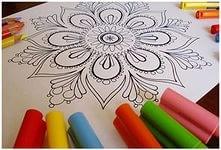 Рисунок в круге или что такое Мандала?