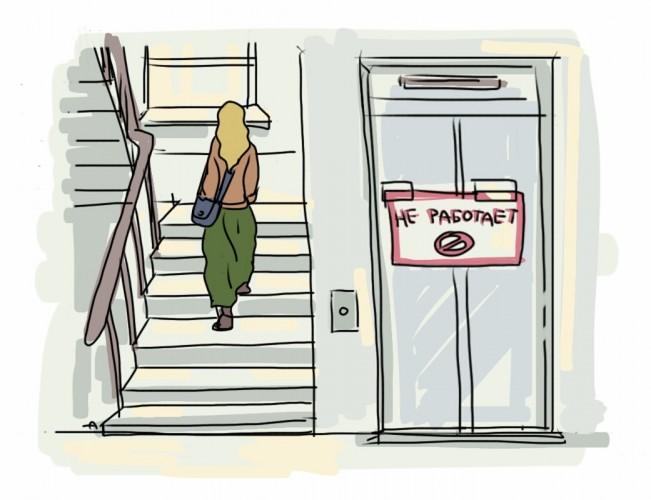 Помогите расшифровать сон «…лифт тоже не идет…»