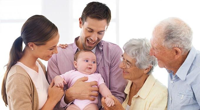 Атака бабушек. Жизнь после родов