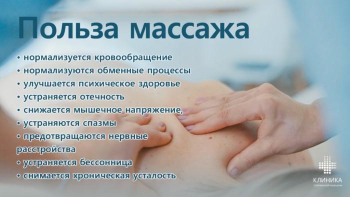 Классический массаж картинки с надписями
