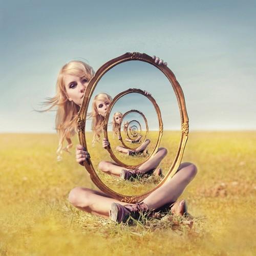 Смотрюсь в тебя, как в зеркало... Мир, как отражение меня. (2)