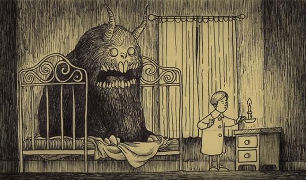 Выгоняем монстров из детской (2)