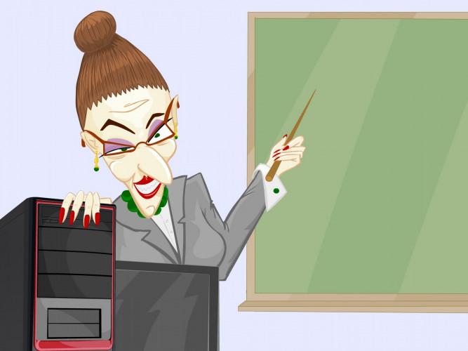 Мучитель-учитель в школе