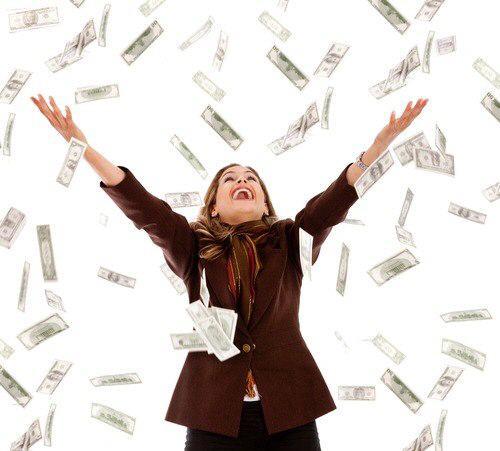 Деньги сыплются с неба фото 344-452