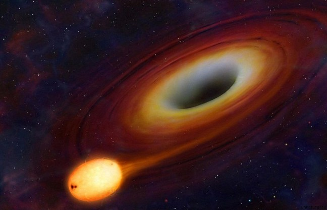 an analysis of the space mystery a black hole Black holes are so massive that they severely warp the fabric of spacetime (the three spatial dimensions and time combined in a four-dimensional continuum) for this reason, an observer inside a.