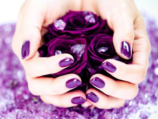 Ассоциации фиолетовый цвет