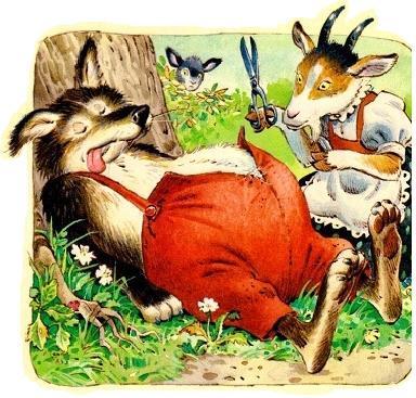 Волк и семеро козлят: а в каком варианте эту сказку ...