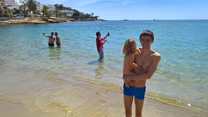 Ибица испания пляж секс