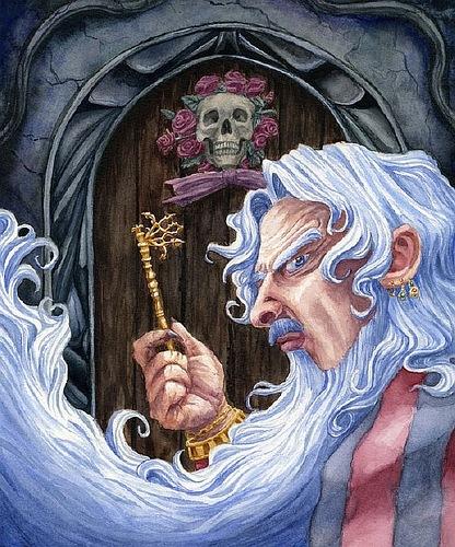 Почему Чудовище не расколдовывается  часть 5 Заколдованный Принц или Синяя Борода