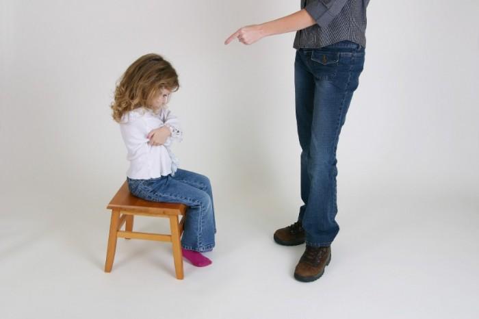 Причины наказаний ребенка в семье (сообщение – 2)