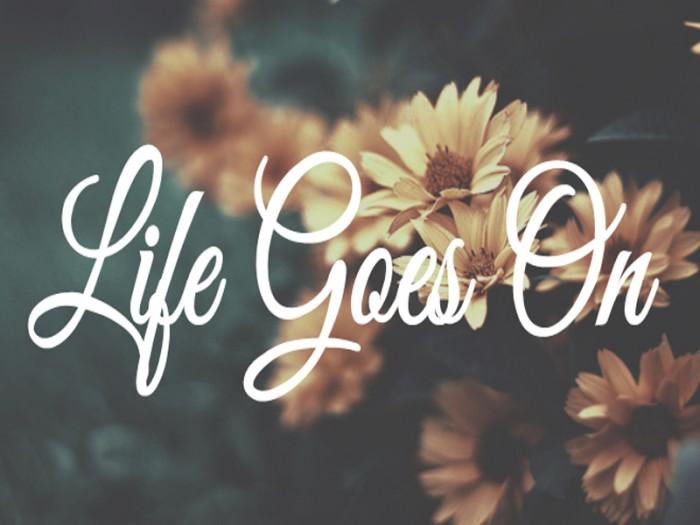 Life goes on Жизнь продолжается