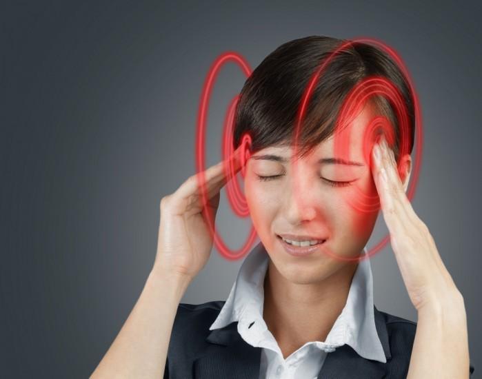 Headache after stress