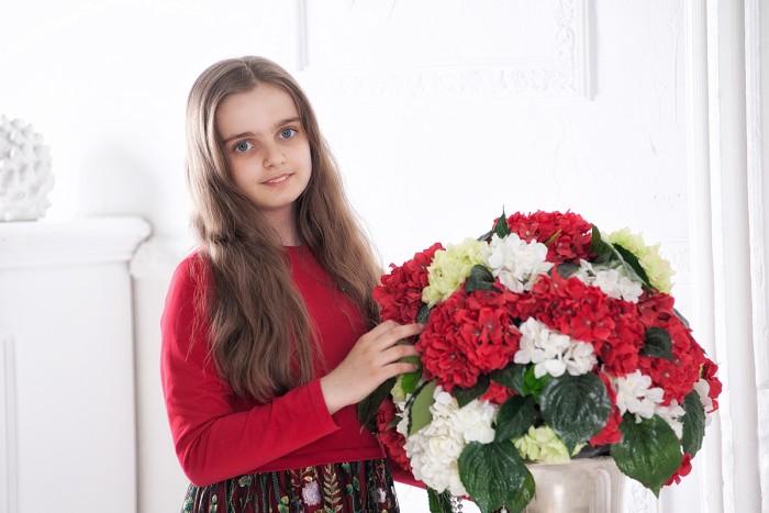 «Цветущая орхидея». Детская версия. Проявленность образов героинь – Розы и Анютиных глазок. (11)