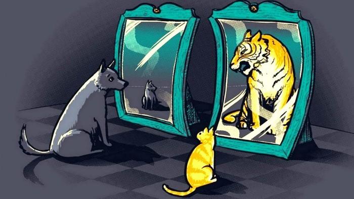 Самооценка Ориентация на достаточно