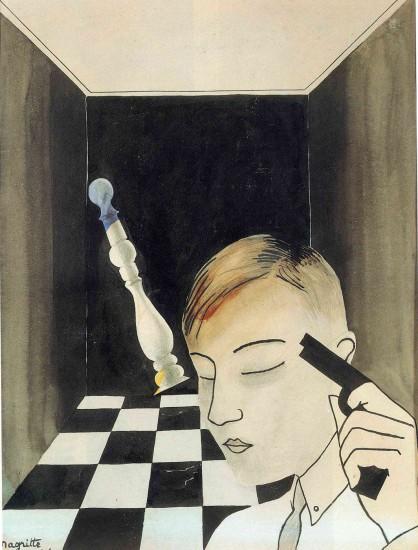 Интерпретация картины Рене Магритта Шах и мат