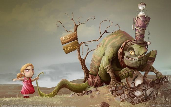 """""""Почему я выбираю чудовищ?"""" Сказочная правда, правдивая сказка... Или иллюзии как точка опоры. (6)"""