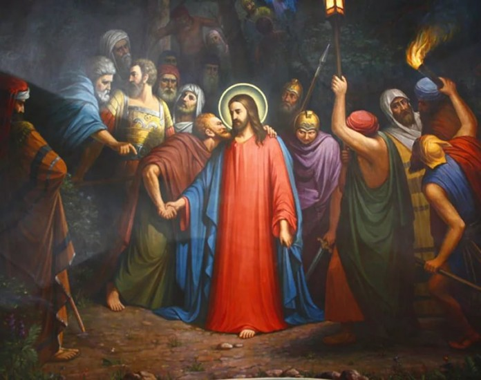 Агиодрама «Отречение Петра и предательство Иуды»