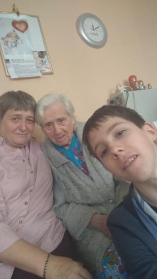Клиент  женщина 100 лет