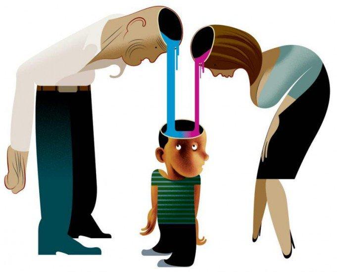 Отношения между родителями и их детьми
