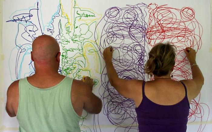 """Развиваем мозг при помощи  упражнения  """"двойных рисунков"""". (6)"""