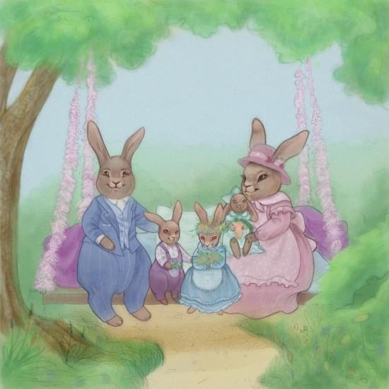 Сказкотерапия  Как адаптировать ребенка к детскому саду Крольчонок Сэр Кролик идет в садик Флосси
