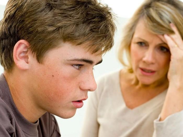 Конфликты родителей с детьми  тинейджерами
