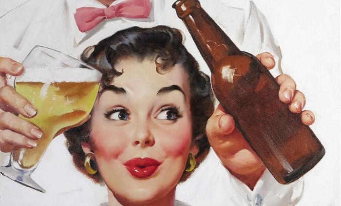 Если женщина пьет... (10)