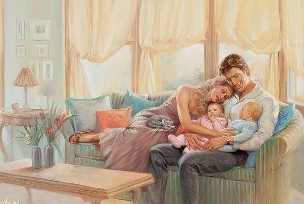 От чего зависит счастливое и легкое материнство