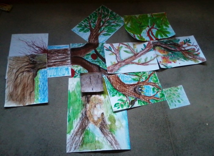 Арт терапевтическая техника Дерево в групповой работе