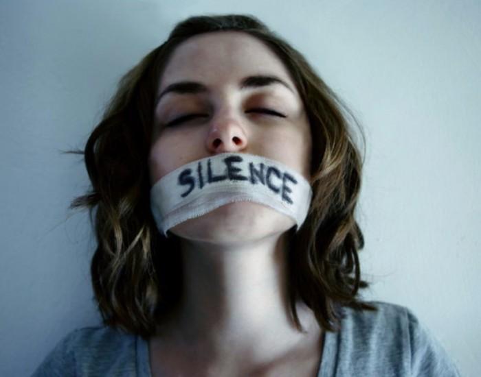 Почему молчит жертва