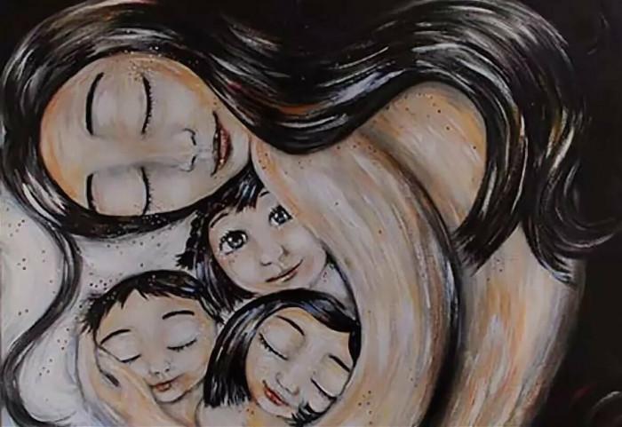 Мир как проекция доброй или злой мамы