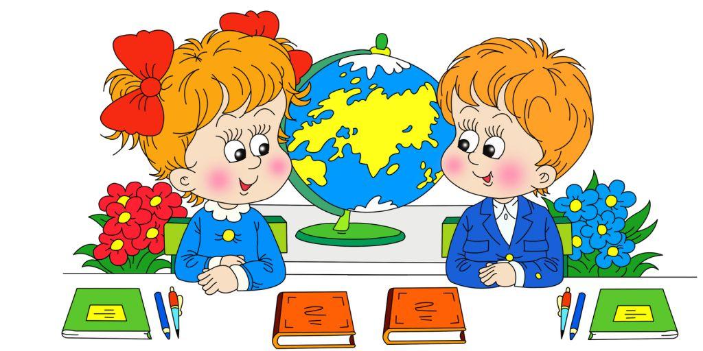 Детские картинки для детей про школу