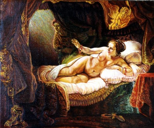 первой сверхглубоководной картина даная рембрандта фото рамка