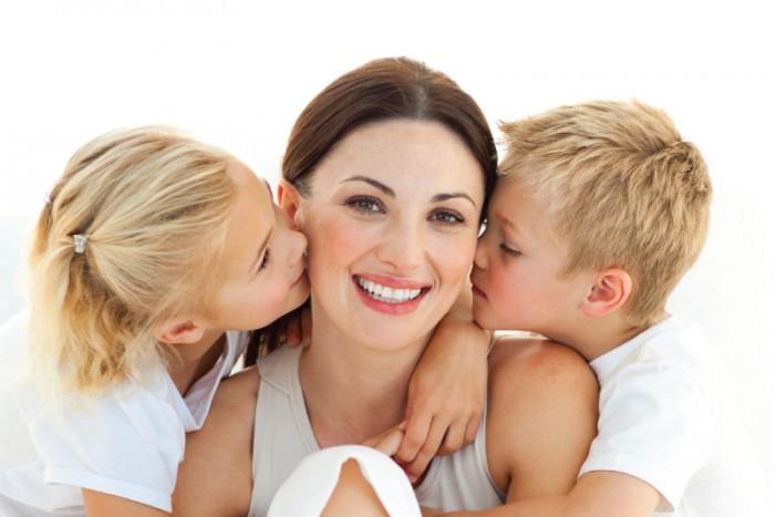 Картинки мамы и дети красивые