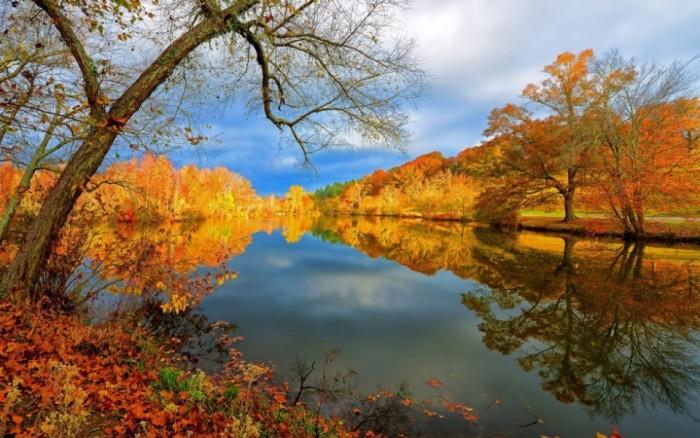 Осень выдох бога